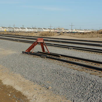 Railroad Track Construction