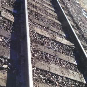Railroad Track Surfacing - After